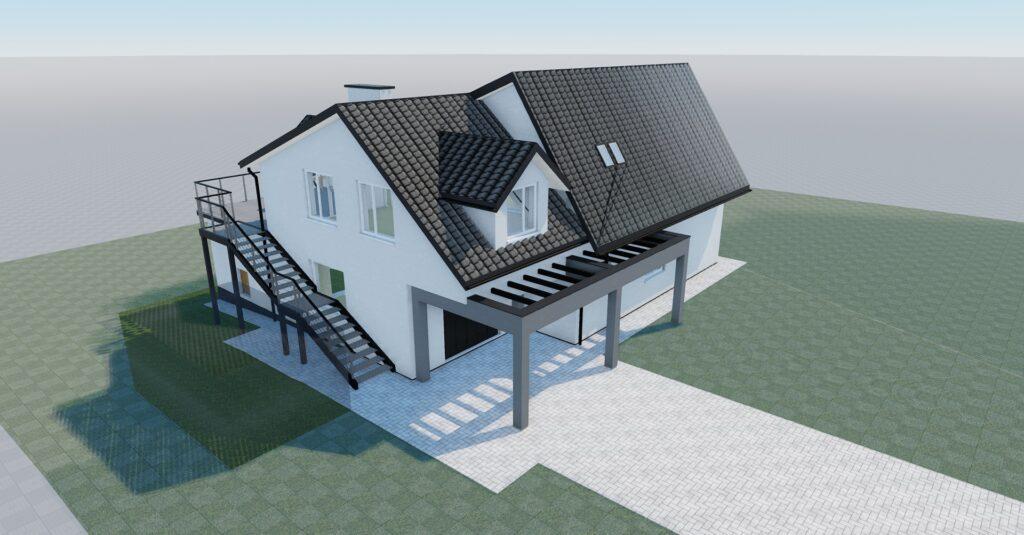 Rozbudowa budynku mieszkalnego jednorodzinnego