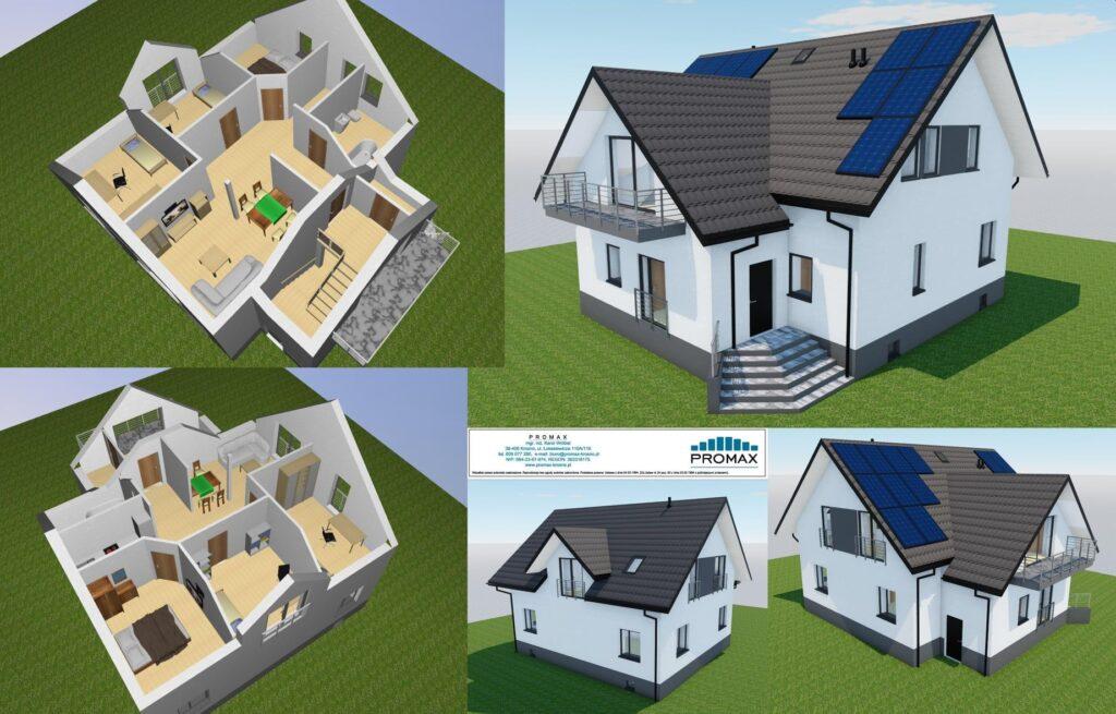 Przebudowa, rozbudowa i nadbudowa budynku mieszkalnego