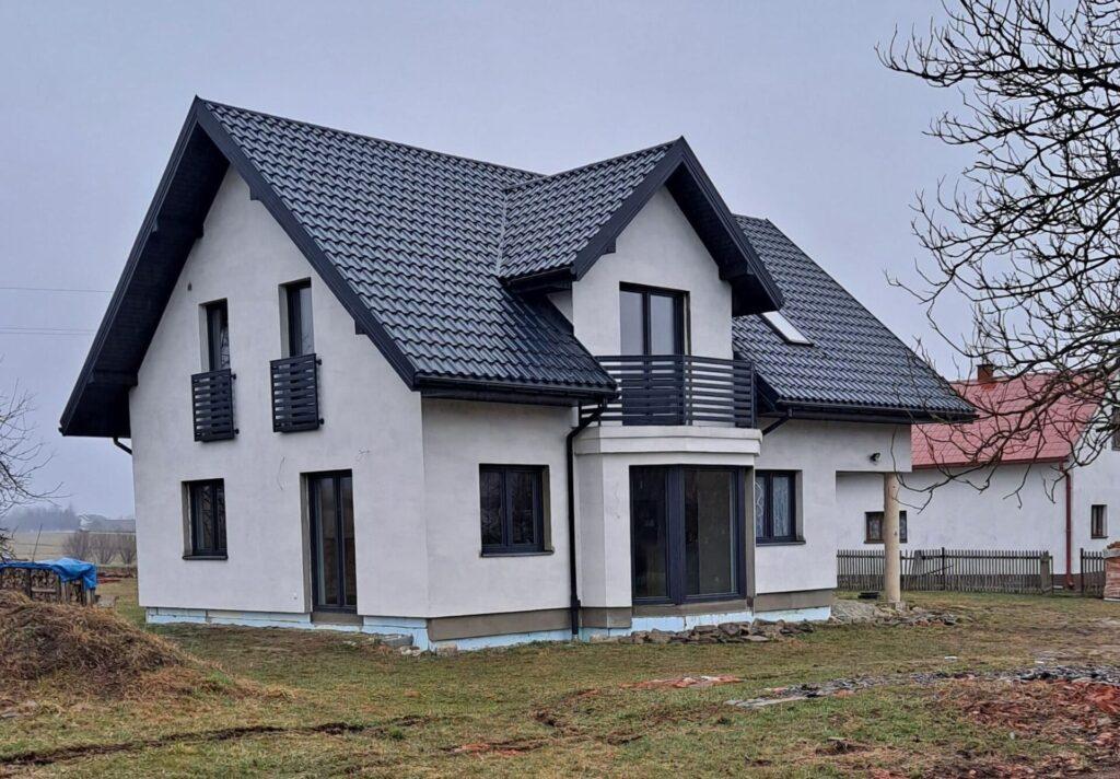 Projekt i nadzór nad budową domu jednorodzinnego 2018-2021r.